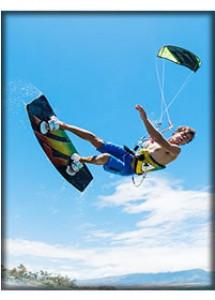 Curso de iniciación al kitesurf